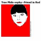 True Philo-sophy--Friend in Red