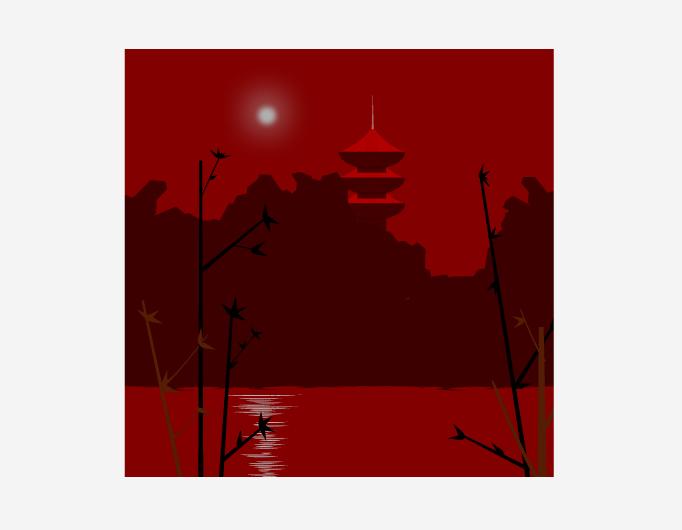 Asian Moonlight