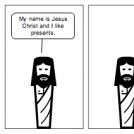 Jesus likes presents