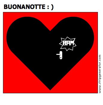 BUONANOTTE : )