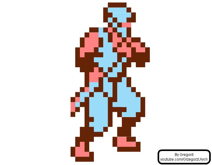 Ryu Hayabusa Ne... Ninja Gaiden Nes Sprite