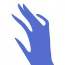 Black & blue gradient