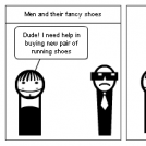 Men and Shoes