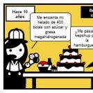 Comer en un bar