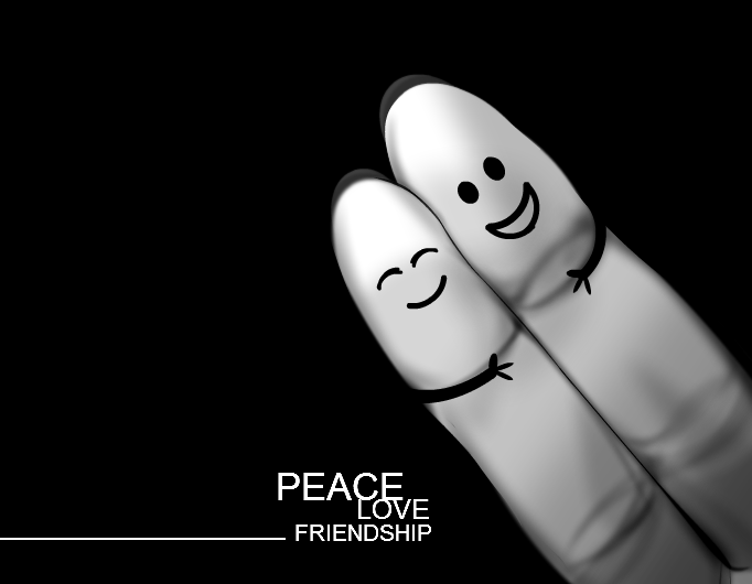 peace  love  friendship Images Of Friendship And Love