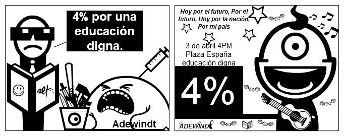 4% educ.