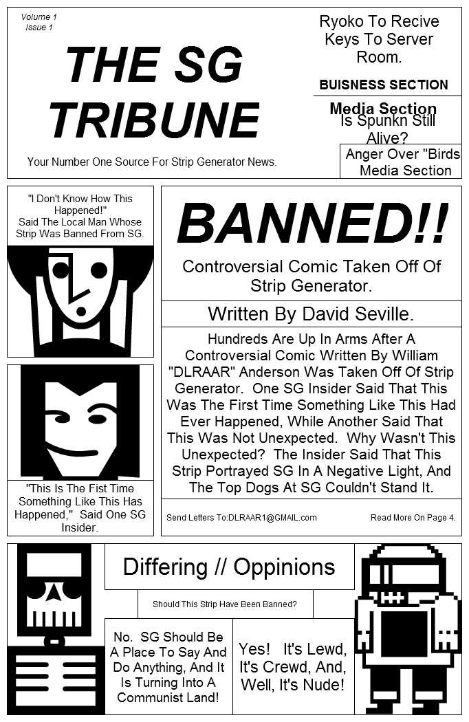 The SG Tribune Issue One