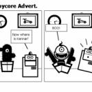 El Comico #161 - Toycore Advert.
