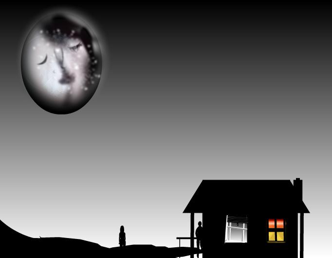 Moon in love