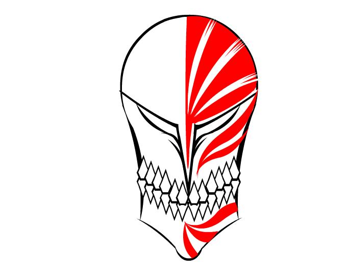 Bleach ichigo hollow mask - Ichigo vizard mask ...