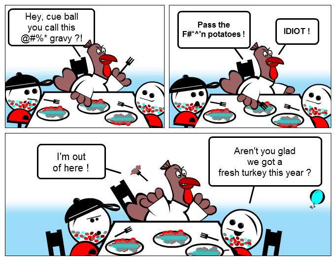 Happy Turkey Day ?
