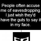 Eavesdropping Ninja
