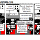October Starts With A Zombie Joke