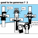 It's good to be generous ?  2
