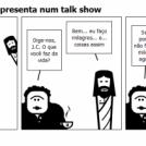 Jesus Christian se apresenta num talk show