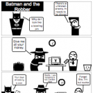 Batman and the Robber