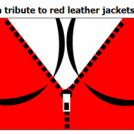 a tribute to red leather jackets