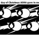 On the fifth day of Christmas ASHA gave to me...