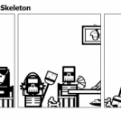 Mr. Skeleton - Mrs. Skeleton