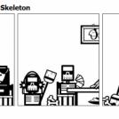 Mr. Skeleton - Mrs. Skeleton