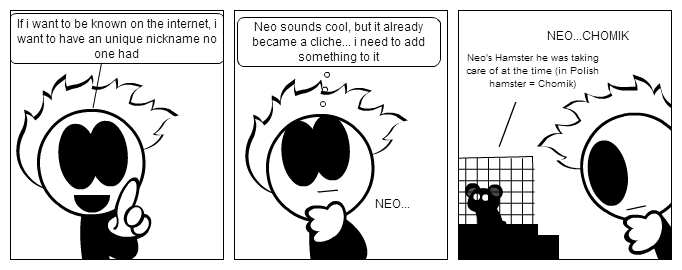 How Neo got his nickname -the most accurate ver.