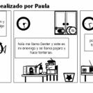 Casas y animales. Realizado por Paula