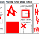 Advanced Tutorial Contest: Making fancy blood lett