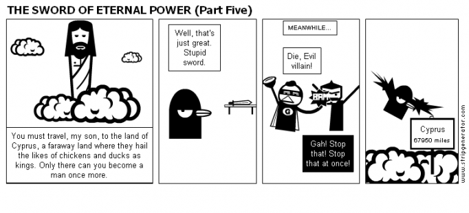 THE SWORD OF ETERNAL POWER (Part Five)