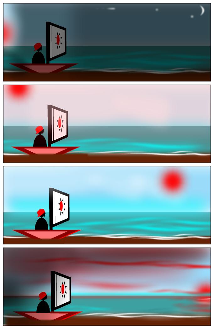 Esperando la marea