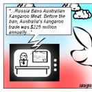 Australian Kangoo for Russian Sausages