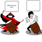 Kung Fu Drummers