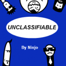 "Cover for the booklet ""Unclassifiable"""