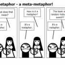 a metaphor for a metaphor - a meta-metaphor!