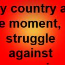 struggle against communism