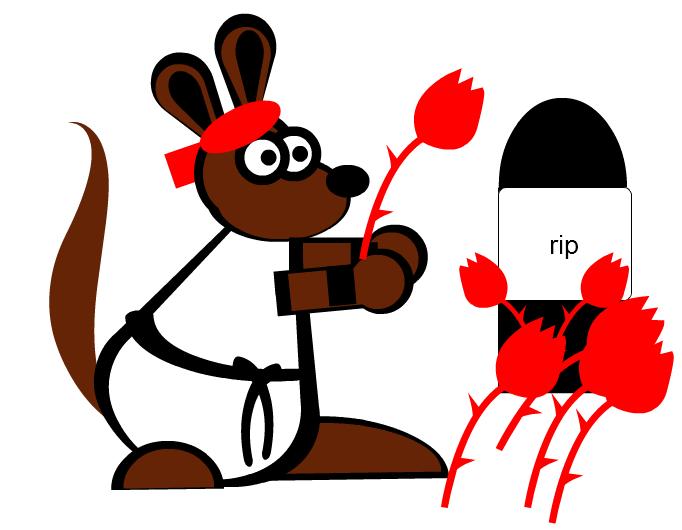 aussies-brother aussie = death