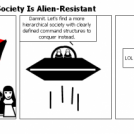 Why An Anarchist Society Is Alien-Resistant