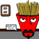 Frylock Applies For A Job