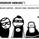 "Meet the Cast of ""HUMDRUM HEROES""!"