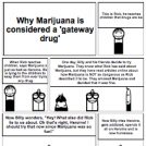 Marijuana is a gateway drug?