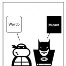 Batman & Michaelangelo 3