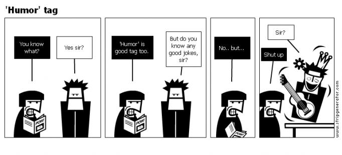 'Humor' tag