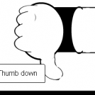 Thumb down this strip