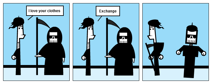 Unknowable exchange