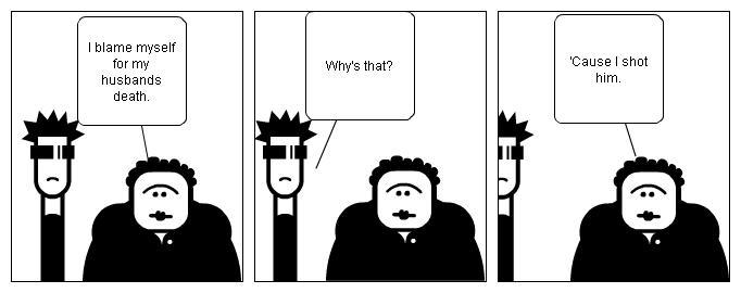 Unordinary funeral conversation.
