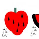 jagoda lubenica jabuka i...