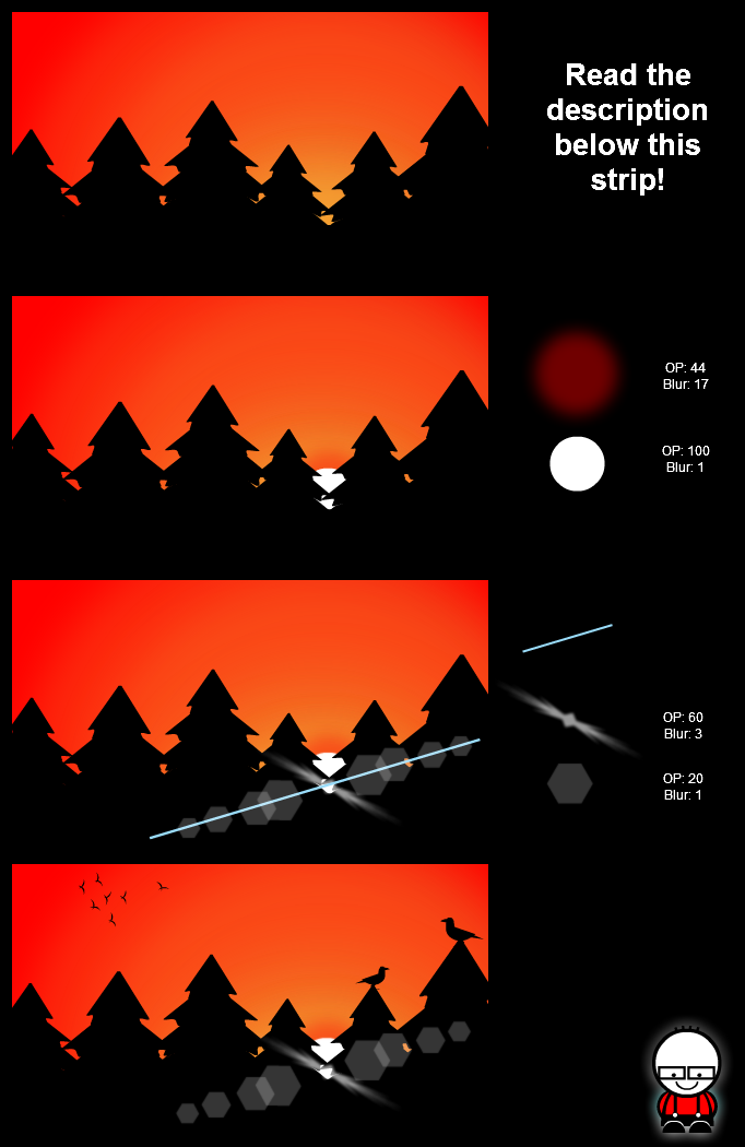 Lense flare tutorial - Part 1