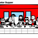 The Last Stripgenerator Supper