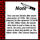 TOS: The Clown Empire Note