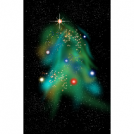 The Christmas Tree Nebula