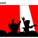 a night at the rock concert